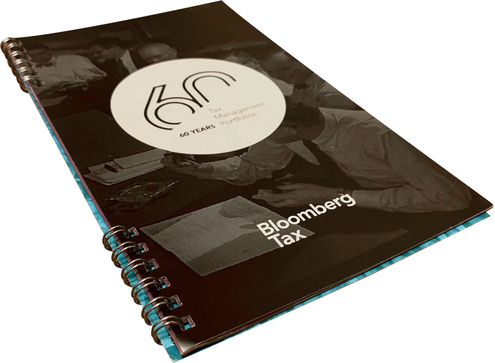 Bloomberg Tax Booklet
